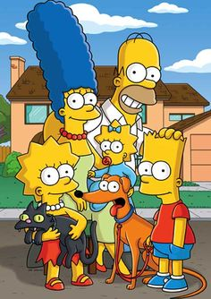 The Simpsons! Heroes for all generations