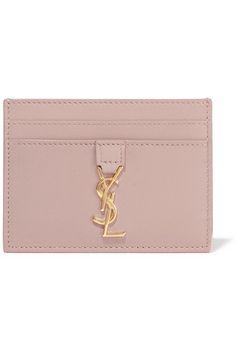 Saint Laurent | Monogramme leather cardholder | NET-A-PORTER.COM