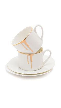 I like these! But maybe I can make something like this myself? Gift Boutique Reiko Kaneko Drip Tease Mug Set