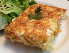 Torta salgada com farinha de arroz (sem glúten) <3  #semglúten #tortasalgada #farinhadearroz