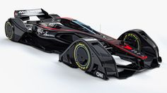 McLaren's New MP4-X Concept Car Imagines a Fully Bonkers Future for F1 | The MP4-X, McLaren's Formula One concept, unveiled today, cares little for evolution and leaps right into tomorrow. | Credit: McLaren | From Wired.com