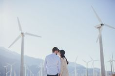Molly + Evan's Palm Springs Engagment : Tangerine Tree Photography