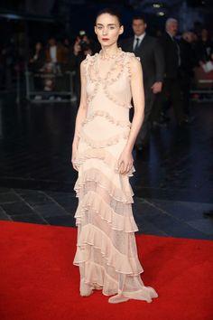 ROONEY MARA IN ALEXANDER MCQUEEN Attending a screening of Carol during the BFI London Film Festival, October 14.