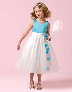 Perfect for the Flower Girls. Alfred Angelo Bridal Style 6615 from Flower Girls Flower Girls, Cute Flower Girl Dresses, Wedding Dresses For Girls, Perfect Wedding Dress, Girls Dresses, Bridesmaid Dresses, Prom Dresses, Dress Prom, Flowergirl Dress