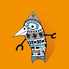 MONSTERS FAMILY, PAJARRACO #illustrationart #sketchbook #sketch #streetart #creative #digitalillustration #art_collective #art_community #artsy #dailyart #draw #artwork #sketch #bird #birds #azteca #totem #graffiti #maya #inka #egipto #egypt #budismo #pokemon #vectorart  #roots #rootsone #rootsart #illustration  #mexicanart #pyramid