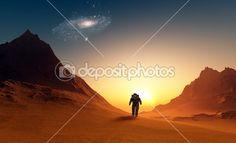 astronauta — Obraz stockowy #12320191