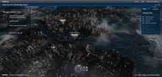 Nokia lança mapa em 3D de Gotham City, a cidade do Batman