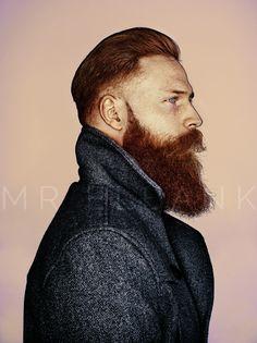Celtic proud, ginger-beard. (bearded men, Viking Men, beards, handsome, hot)