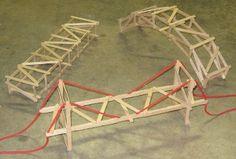 Beam, Truss, and Suspension Bridge