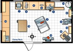 woodworking shop layout tips