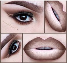 50 Sexy and Perfect Ombre Lips Makeup ideas 2015 Gorgeous Makeup, Love Makeup, Makeup Inspo, Makeup Inspiration, Makeup Tips, Beauty Makeup, Makeup Looks, Makeup Ideas, Nyx Makeup