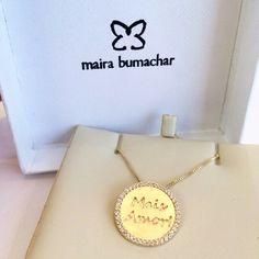 Mais Amor!!! #mairabumachar www.mairabumachar.com.br #colar #maisamor #sp #vix #praiadocanto #vilamadalena #perdizes #pinheiros #pompeia