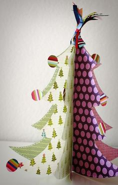 Cute Paper Tree with free template
