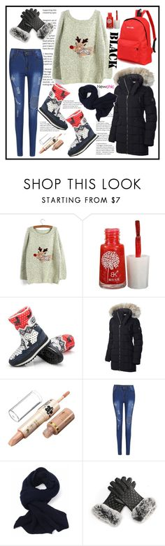 """""""Newchic 6"""" by cindy88 ❤ liked on Polyvore featuring SOREL"""