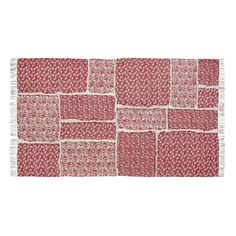 Isabella Red Area Rug