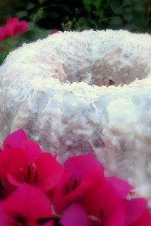 Malibu® Rum Coconut Cake--anything with Malibu HAS to be good!