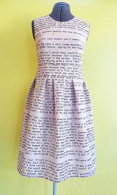 This Amazing Dress Is A Wearable Harry Potter Book