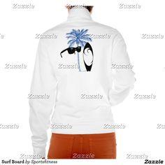 Surf Board Printed Jacket