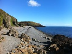St Ninian's Cave, Isle of Whithorn, Dumfries and Galloway