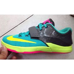 Early Information on the Nike KD 7 ❤ liked on Polyvore featuring shoes