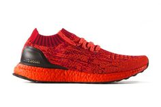 new product 2d044 ca57b adidas Dyes Its Boost Sole in Red for This Upcoming Ultra Boost Uncaged  Zapatillas, Botas