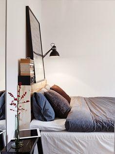 Greige modern bedroom - Daily Dream Decor