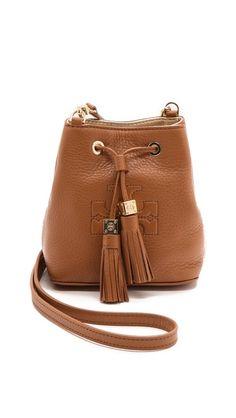 thea mini bucket cross body bag / tory burch