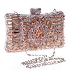 2da29e8ae 2015 Diamond Minaudieres Evening Bag Rhinestone Women Evening Clutch bags  Party Luxury Clutch Purse Wedding Chain