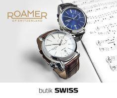 Kolekcja szwajcarskich zegarków ROAMER to ucieleśnienie czystego i klasycznego designu. Szlachetne materiały najwyższej jakości sprawiają, że ROAMER jest niezawodny przez długie lata! Bogata kolekcja dostępna w butiku SWISS! Zapraszamy!
