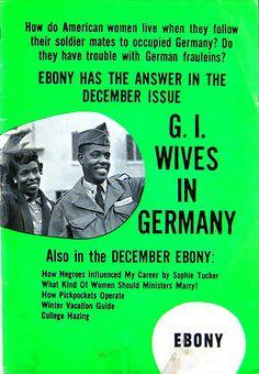 Advertisement For Ebony Magazine - Jet Magazine, November 12, 1953