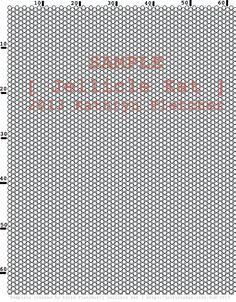 Beading Template  Offset Beading Pattern & Peyote by JellicleKat, $1.00