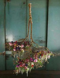 Flower Branch Chandelier