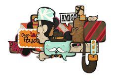 ALEX YANES http://www.widewalls.ch/artist/alex-yanes/ #AlexYanes #popart #urbanart