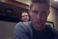 @JensenAckles  Trying to figure out Twitter and I'm noticing an odd growth on my shoulder. #Weird