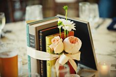 library themed wedding, whitehall manor