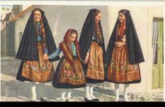 Traditional dress from Nazaré, Portugal