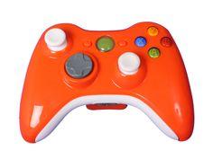 Xbox 360- Orange Man Controller