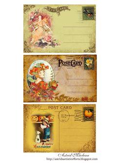 Postales. Post card