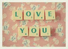 Love You, via Etsy.