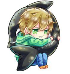 Free! ~~ Cuddling chibi series :: Makoto