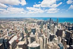 Chicago from the Sky Photo Print