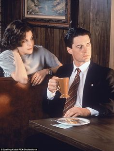 Cult classic: The original Twin Peaks followed an investigation into the murder of popular...