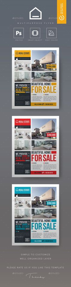 Real Estate Flyer  Real Estate Flyers Psd Templates And Open House