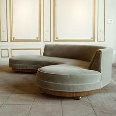 37 Awesome Modern Sofa Design Ideas - 2020 Home design Round Sofa Chair, Gebogenes Sofa, Diy Sofa, Sofa Furniture, Living Room Furniture, Modern Furniture, Furniture Design, Rustic Furniture, Antique Furniture