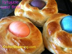 portuguese easter bread | Portuguese Sweet Bread