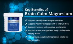 GABA (Gamma-AminoButyric Acid) is an inhibitory neurotransmitter that has a calming and relaxing effect in the brain. Is your brain making enough GABA? Calm Magnesium, Best Magnesium, Magnesium Benefits, Magnesium Supplements, Signs Of Magnesium Deficiency, Vagus Nerve, Cerebrospinal Fluid, Serotonin Levels, Bone Density