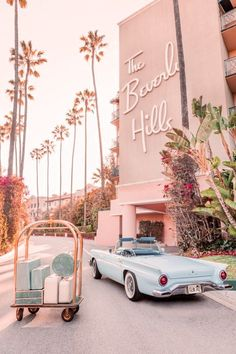 Gray Malin's Beverly Hills Hotel Photos Are A Retro Trip Back In Time — Carrie Nelson & Co.