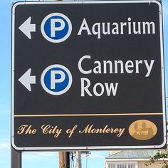 This way to Monterey!
