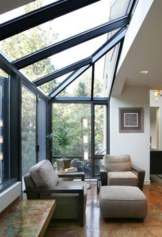 Natural sunlight in living room.