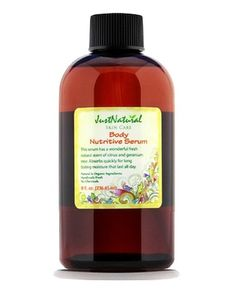 Gentle, non-irritating all natural soothing formula. Natural nutrient rich body serum made fresh in the USA. Non-greasy and absorbs quickly into your skin to begin working. Rice Bran and Peach Kernel oils are vitamin rich long lasting moisturizers. No Mineral Oil, No Petrolatum, No Silicone, No Water, No Alcohol, No Fillers.